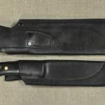 WSK & FACS sheaths. Std. (Basic) design w/no mounting holes. Rear view.
