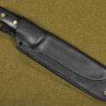FACS sheath w/brass lined (grommeted) lower mounting holes.